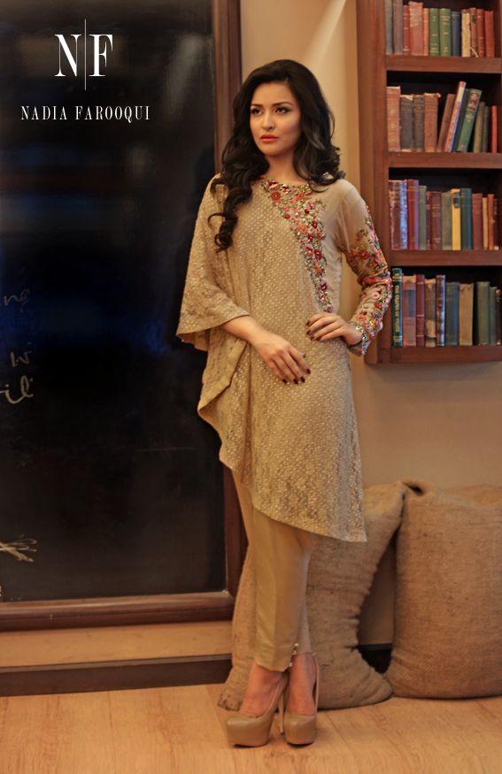 Nadia Farooqui Women Formal Wear http://www.fashioncluba.com/2016/09/nadia-farooqui-frosted-encounter-bridal-wear-formal-collection-2016-17.html