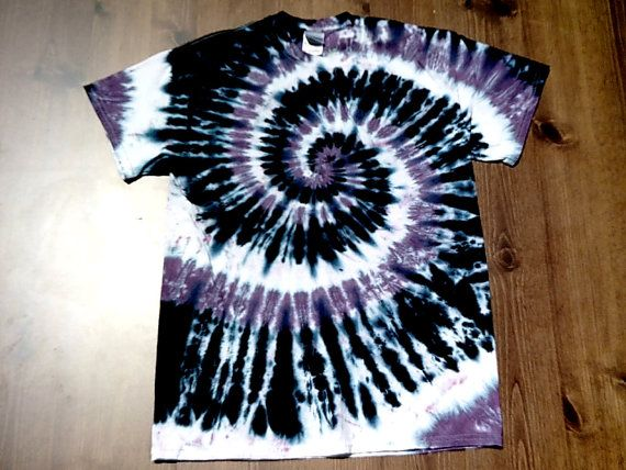 Tie Dye T Shirt   Shades of Purple Double by theTieDyeBandit, $23.00
