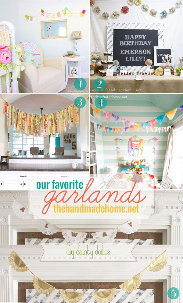 garland ideas
