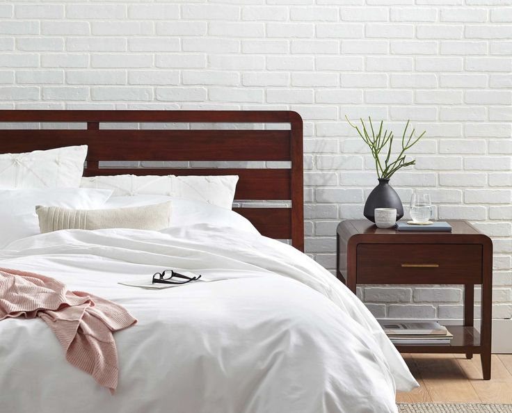Scandinavian Designs - The Adalina bed is everything you have been looking for in a bed: refined, durable and timeless. Crafted from solid wood, it features a slatted headboard, low-rise footboard and runners. The platform-style frame doesn't require box springs. Queen bed pictured. Click below for additional sizes.