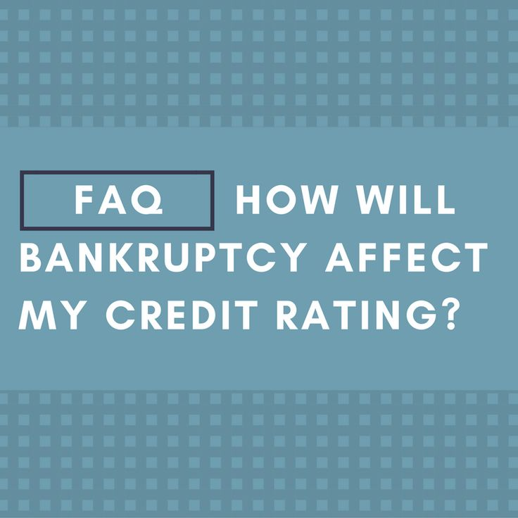 To find the answer to this frequently asked question, click here: http://www.greenwaybankruptcy.com/faqs/how-will-bankruptcy-affect-my-credit-rating/