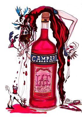 We love Campari @Yulia Krupennikova Official