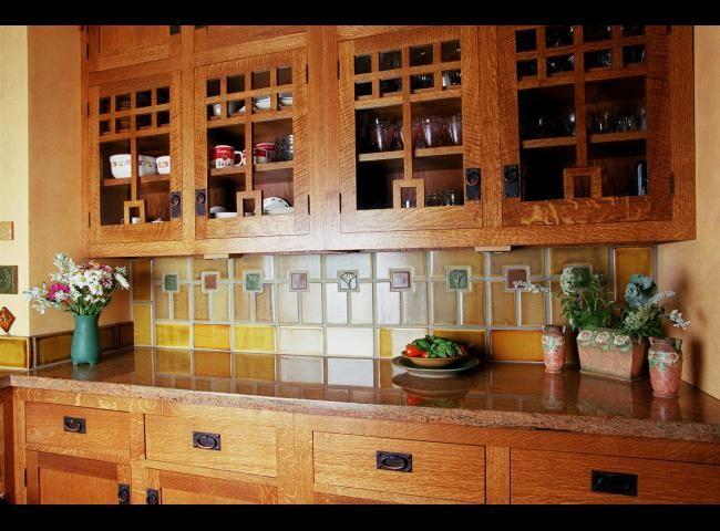 17 best images about kitchen backsplash on pinterest for Craftsman style flooring