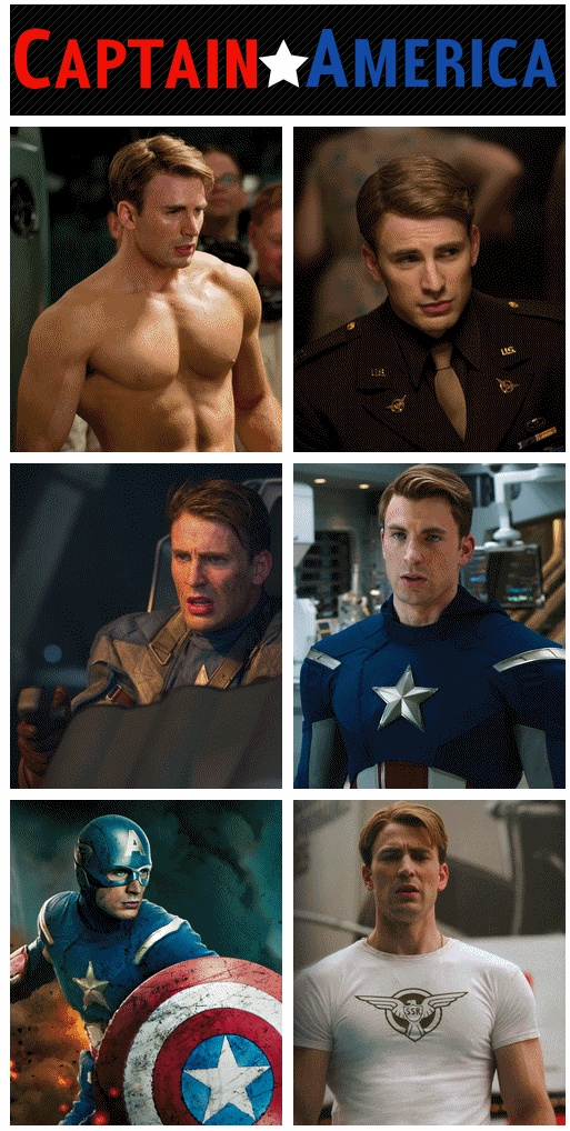 I enjoyed this movie. Ironman is my favorite but Captain America is still good, and Chris Evans is great looking!