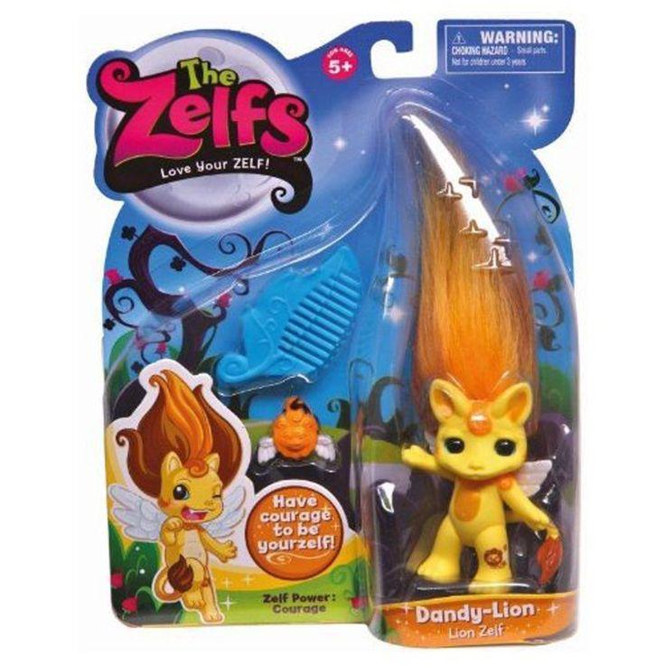 Zelfs, Medium Doll Series 3, Dandy-Lion (Lion Zelf), Figures - Amazon Canada