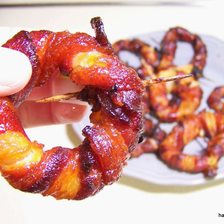 Sriracha bacon onion rings challenge mozzarella sticks to try harder