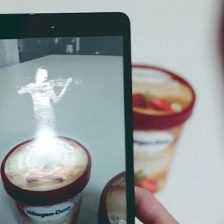 Häagen-Dazs launched a new iPhone app that lets users listen to a concerto while their ice cream softens.