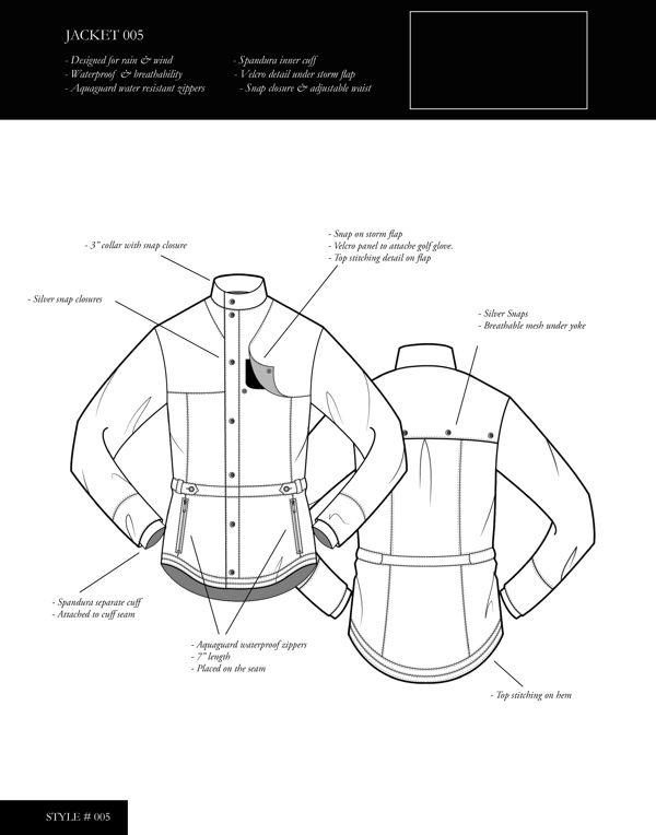 Golfing Outerwear on Behance
