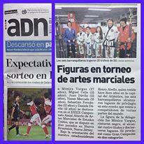 ¡Reportaje en sección deportiva de Diario ADN resaltando los logros de nuestro equipo! ¡Felicidades!