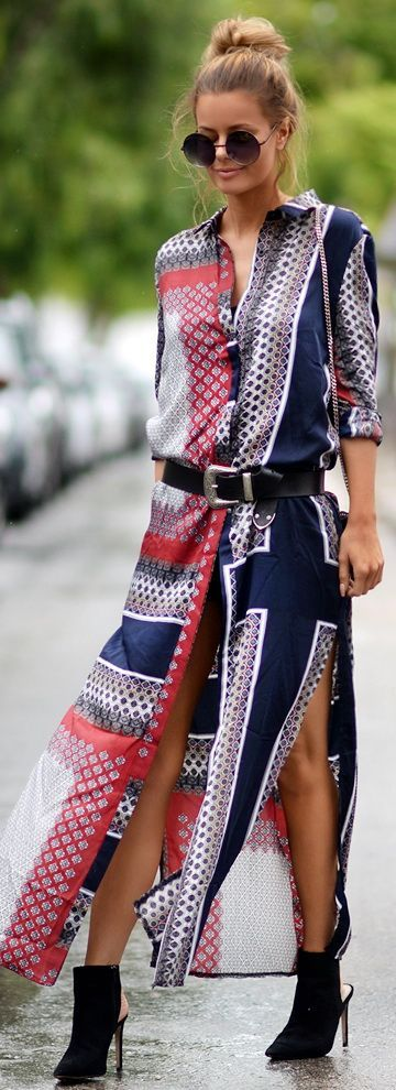 Fashion Trends | Paisley Print Dress
