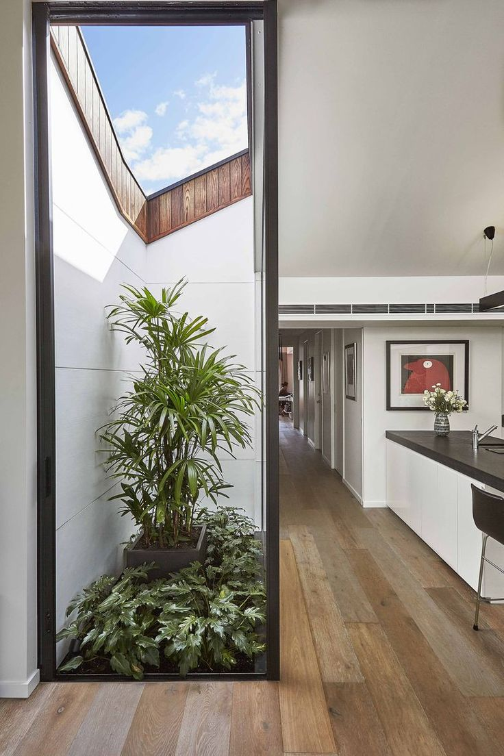 Internal courtyard in a Melbourne-area home