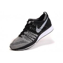 Nike Flyknit Trainer+ Unisex Svart Hvit   Nike billige sko   kjøp Nike sko på nett   Nike online sko   ovostore.com