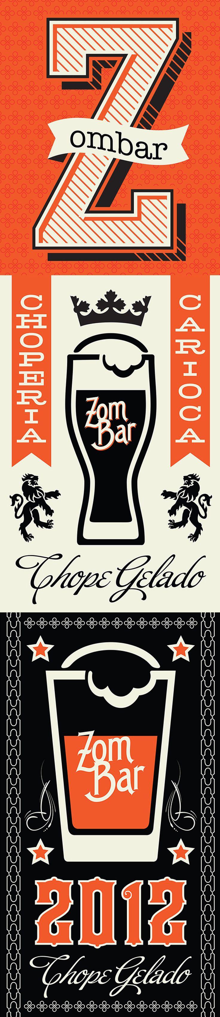 ZOMBAR - (Design by Muffa Comunicação) muffa.com.br