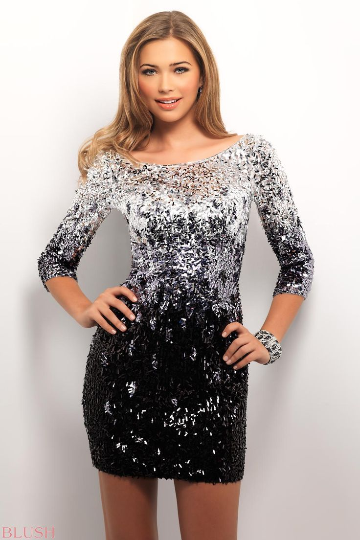 Long Sleeves Rock In This Formal Prom Dress A Boat Neck