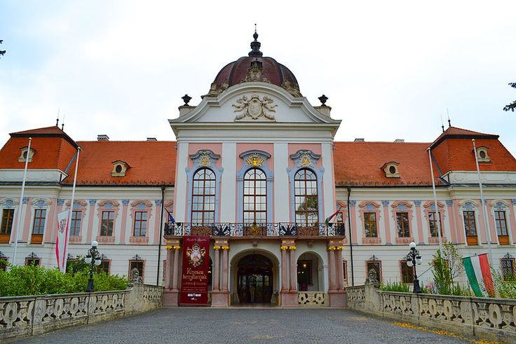 Grassalkovich-kastély, Godollo, Hungary. Castle where Empress Elisabeth spent much time.