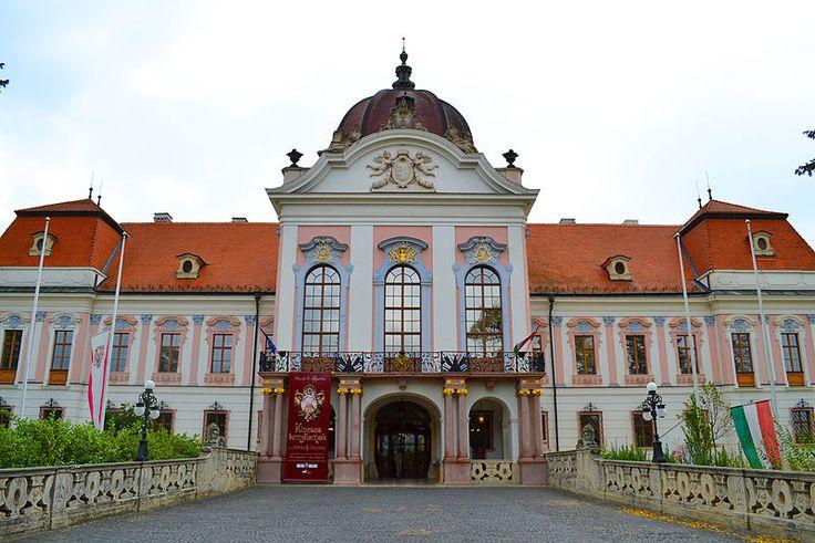 Grassalkovich-kastély, Godollo, Hungary. Castle where Empress Elisabeth spent much time.