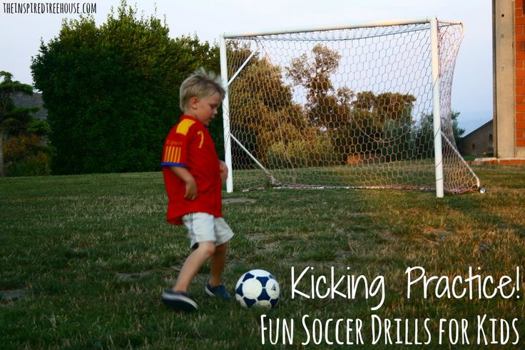 An important child development gross motor skill, kicking. here are activities for kids of all ages to increase force and direction.