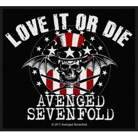 Ecusson Avenged Sevenfold - Love it or die