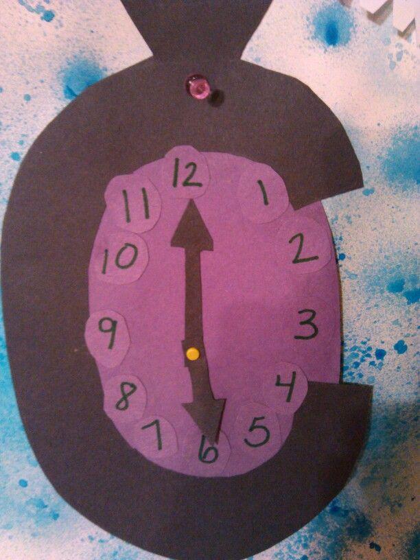 Koltyn S Letter C Craft C Is For Clock Tss Pinterest