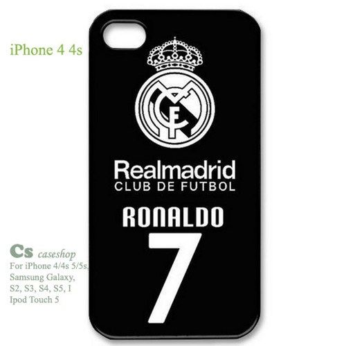 Custom Cristiano Ronaldo Back Cover Case for iPhone 4 4s | 5STAR - Accessories on ArtFire