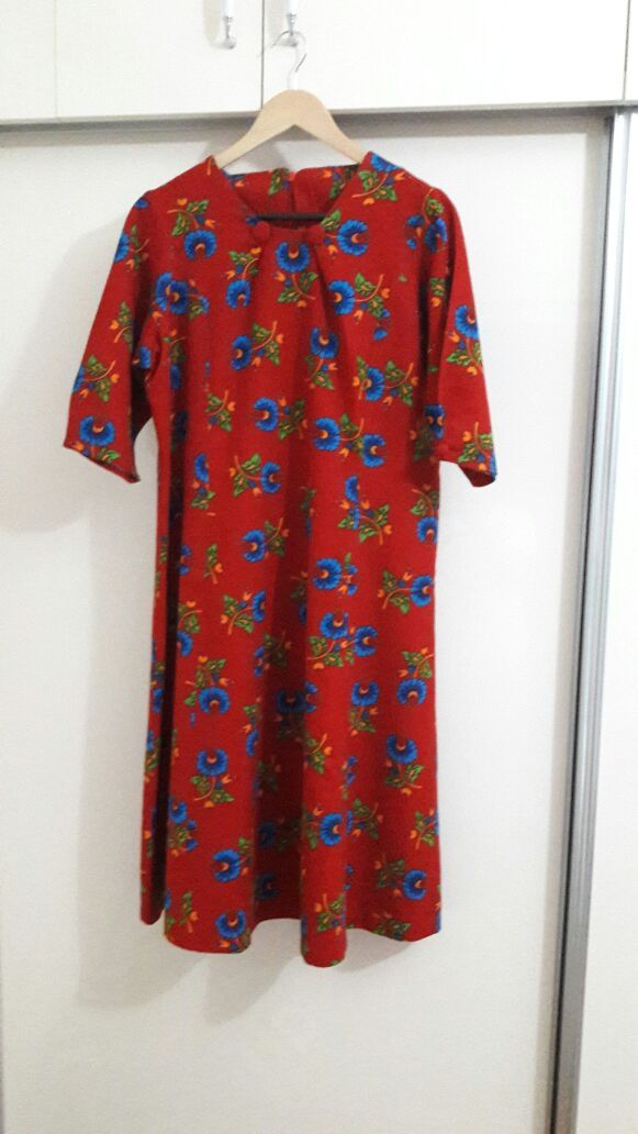Pazen Elbise Ornitorenk Handmade Pazen Elbise Elbise Yeniden Tasarimlari