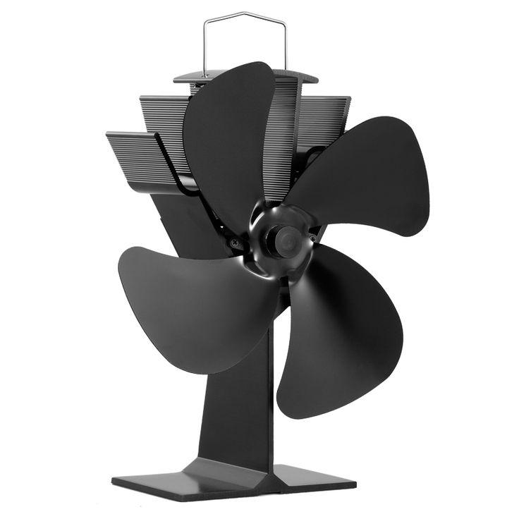 50 Grados Celsius Rápida Puesta en Funcionamiento Automático Eco Estufa De Leña Estufa de Calor Alimentado Ventilador Ventilador