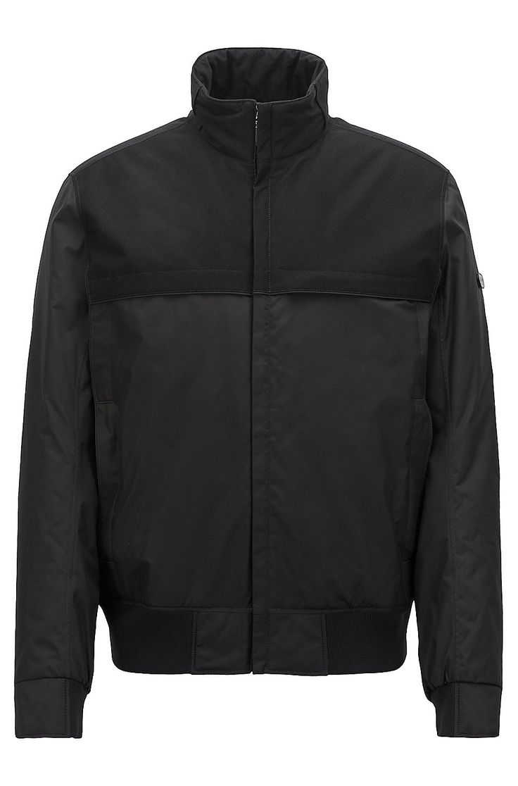 HUGO BOSS Water-repellent padded jacket with ...