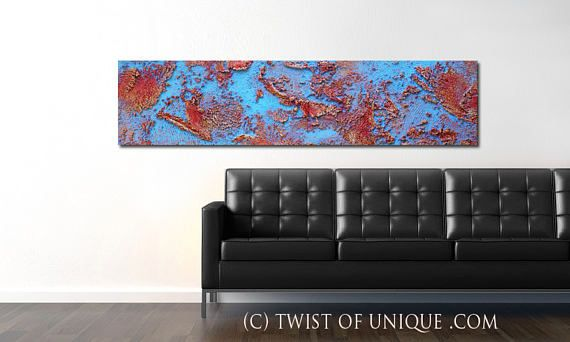 Industrial Abstract Painting / ORIGINAL abstract painting/