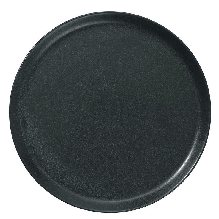 assiette pizza noire finition mate imitation c ramique effet pierre id ale les pizzas mais. Black Bedroom Furniture Sets. Home Design Ideas
