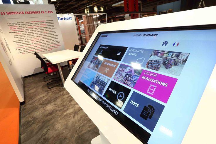 Le digital sur le stand Groupe Lindera au salon Equipmag 2016