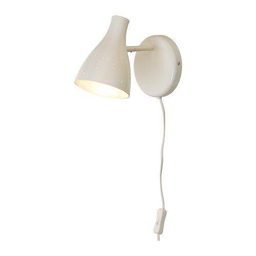 IKEA - SNÖIG, Wandlamp, , Getest en beveiligd tegen nieuwsgierige kindervingertjes.Goede leeslamp met goed afgeschermd licht.Geeft gericht licht; goede puntverlichting.