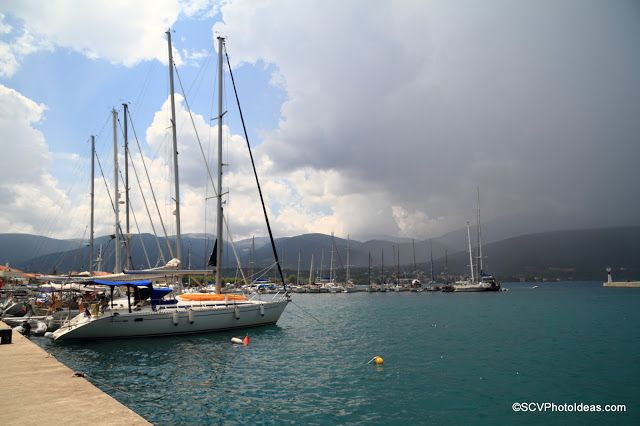 Quite some time ago I experimented in capturing the dark mood of the upcoming storm in the port of Sami on Kefalonia island, Greece   The heavy storm clouds introduce a great contrast into the scenery.     #strom   #clouds   #seascape   #sailboats   #contrast   #canon   #canonphotographers   #kefalonia   #cephalonia   #greece