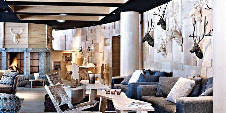 Hotel Val Thorens - Altapura: wood paneling