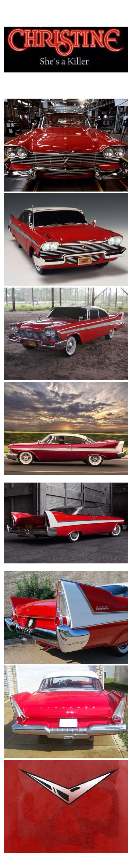 Christine Is A 1958 Plymouth Fury.