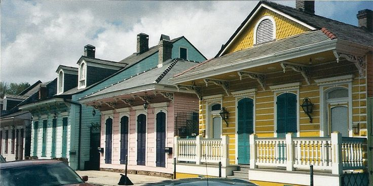 1000 images about row houses in new orleans on pinterest for New orleans shotgun house plans