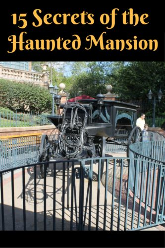 15 secrets of the Haunted Mansion in the Magic Kingdom - did you know #3?
