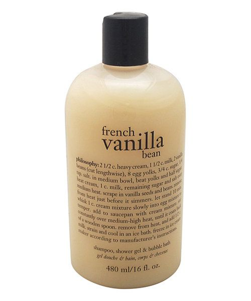 Look at this philosophy French Vanilla Bean 16-Oz. 3-in-1 Shampoo, Shower Gel