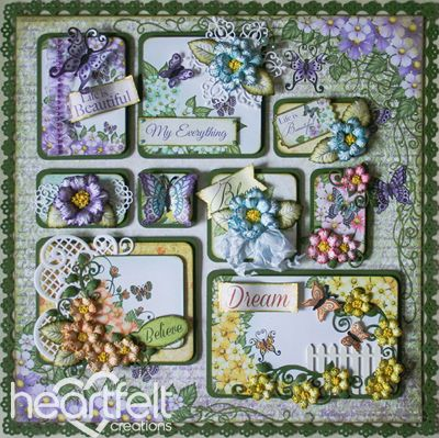 Heartfelt Creations | Blooming Boxes Layout