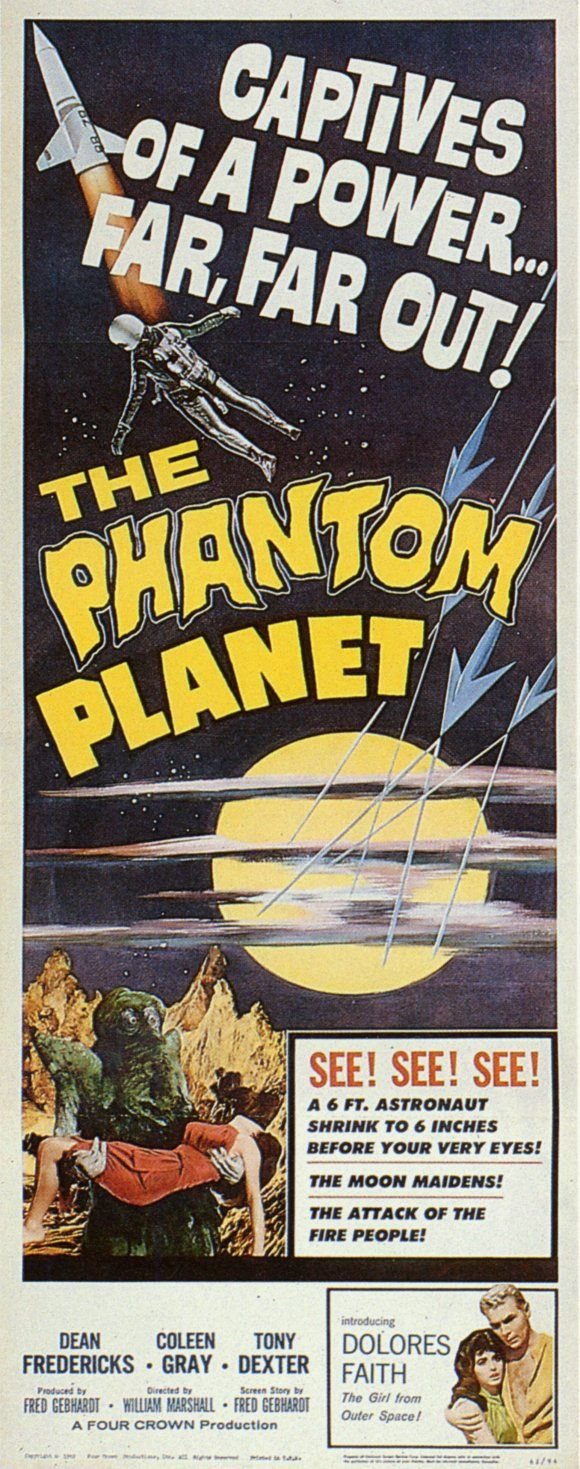 """MST3K 0902 'The Phantom Planet' (1961) """"You know, Captain, every year of my life, I grow more and more convinced that the wisest and best is to fix our attention on the good and the beautiful..."""" """"Don't hit him..."""""""