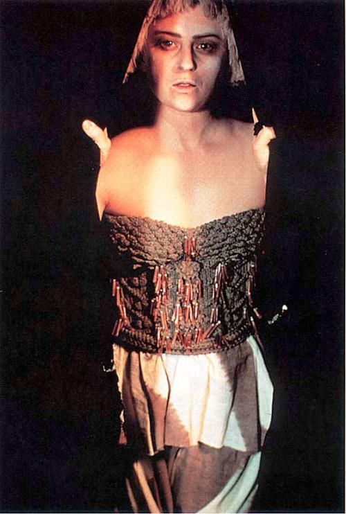 Cindy Sherman Untitled #117 1983 chromogenic color print 34 3/4 x 14 1/2 in. (88.27 x 36.83 cm)
