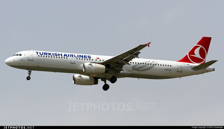 Airbus A321-231, Turkish Airlines, TC-JMH, cn 3637, 178 passengers, first flight 21.11.2008, Turkish delivered 30.1.2009. Active, for example 14.6.2016 flight Istanbul - Vienna. Foto: Istanbul, Turkey, 13.5.2016.