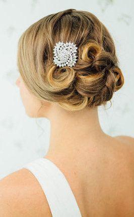 Crystal Bridal Hair Comb Wedding Haircomb