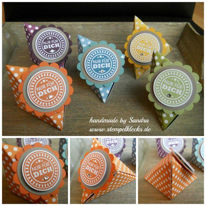 Goodie Origami-Verpackung - Stempelklecks - Stempeln, Stanzen und Basteln mit Stampin' Up! -