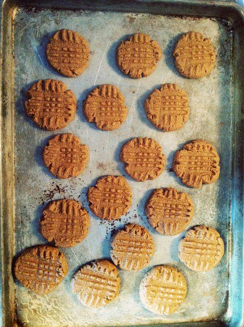 Easy Gluten Free PB Cookies
