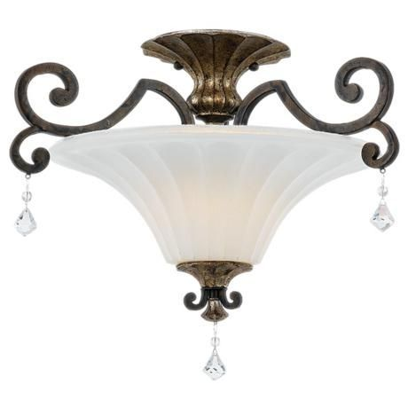 Amber scroll ceiling light - AOL Image Search Results