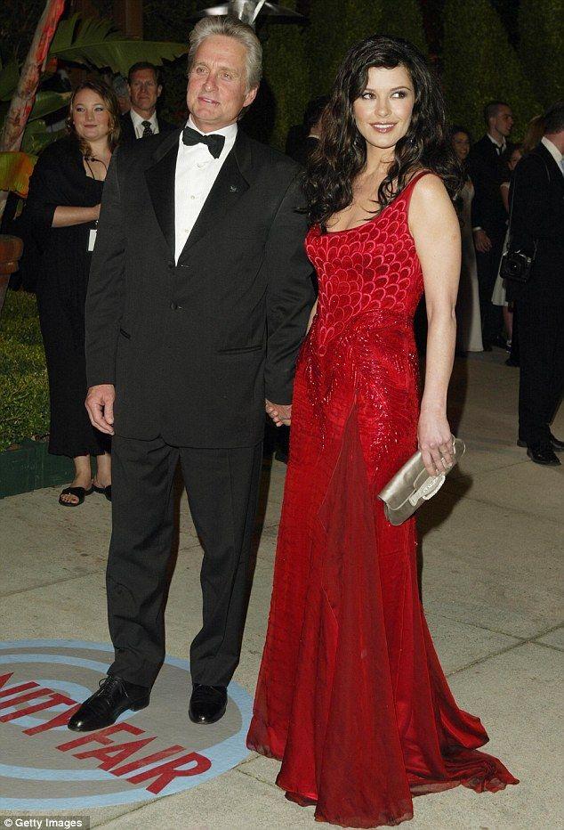 Michael Douglas pays tribute to his wife Catherine Zeta ...