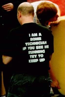 Law Enforcement Humor but I should use this as motivation in helping people run.....