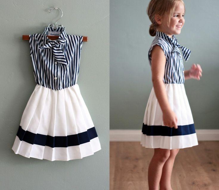 dress for little girl #flourclothing #vintage #kid