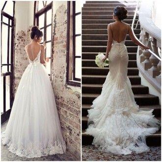 10 Vestidos de Noiva com Decote nas Costas