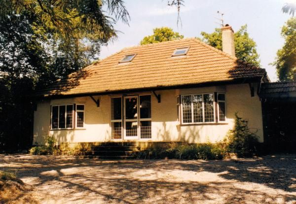 Bungalow to a chalet style conversion - Before